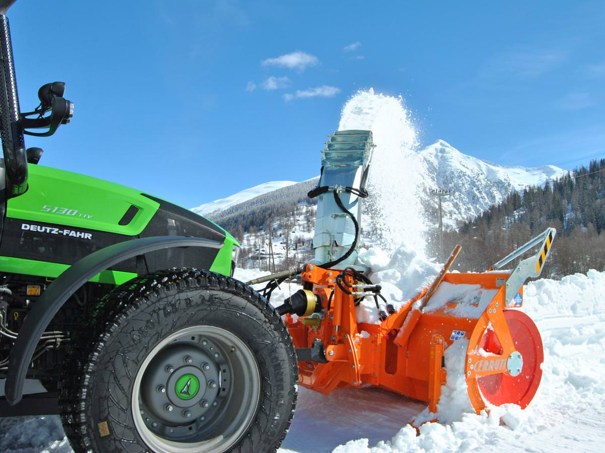 MECHANICAL SNOW BLOWERS: snowblower BIG 750